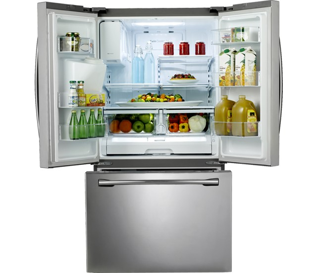 Samsung 174 36 25 6 Cu Ft French Door Refrigerator