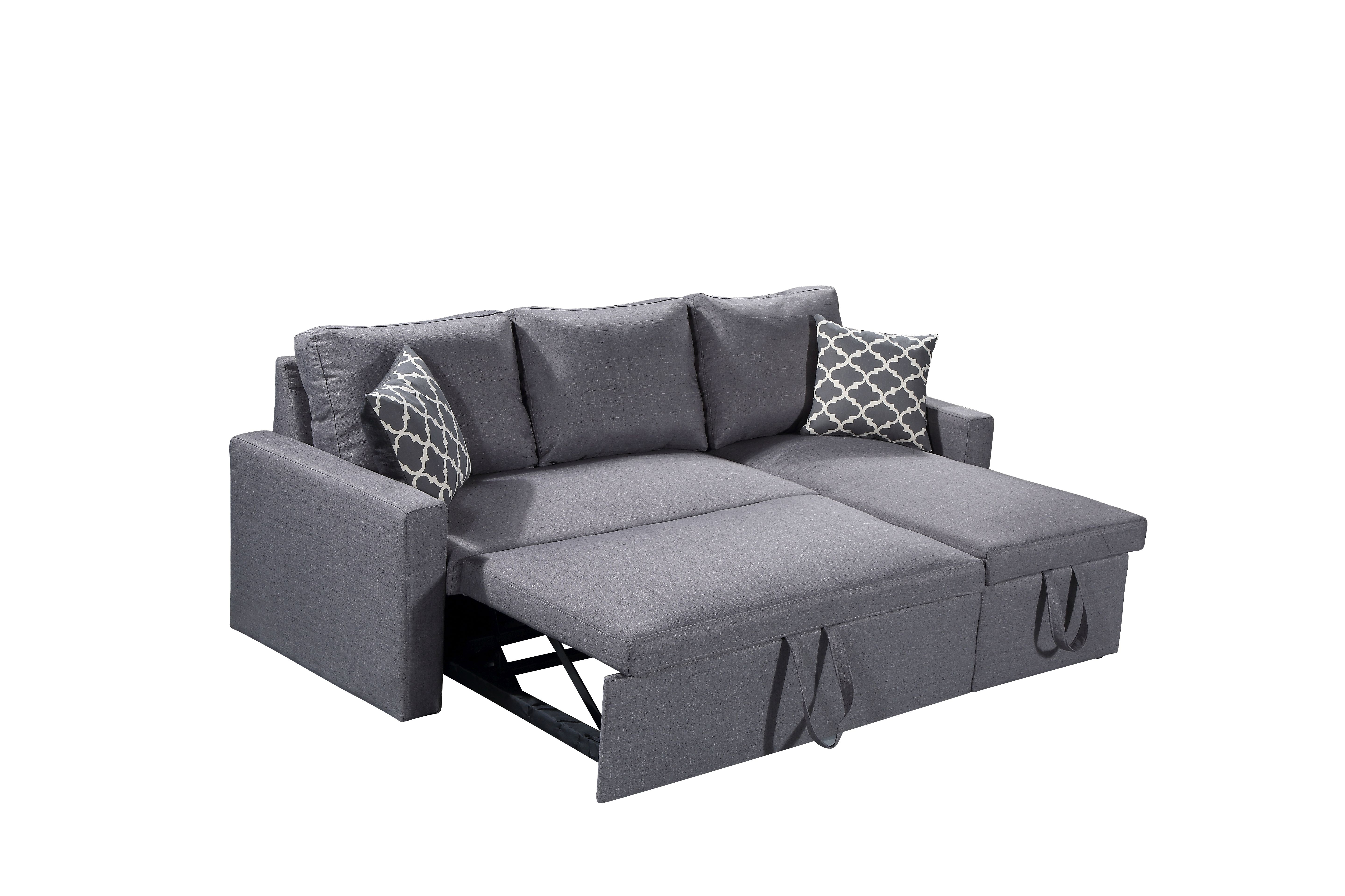 Outstanding Zara Sectional Sofa 3 In 1 Sofa Bed Storage Ncnpc Chair Design For Home Ncnpcorg